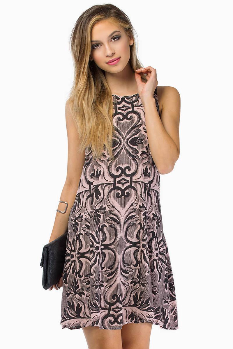 somedays lovin Gracie Baroque Swing Dress