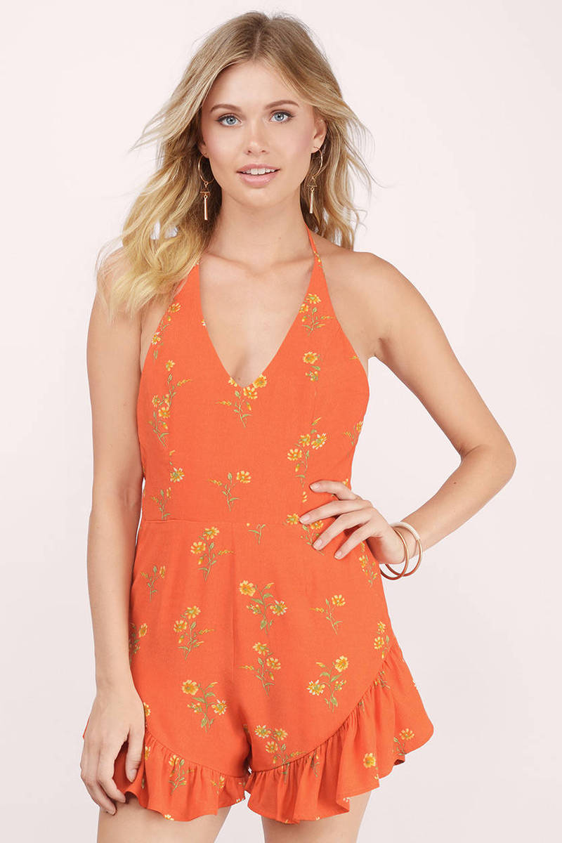 MINKPINK Minkpink Honey Blossom Multi Floral Playsuit