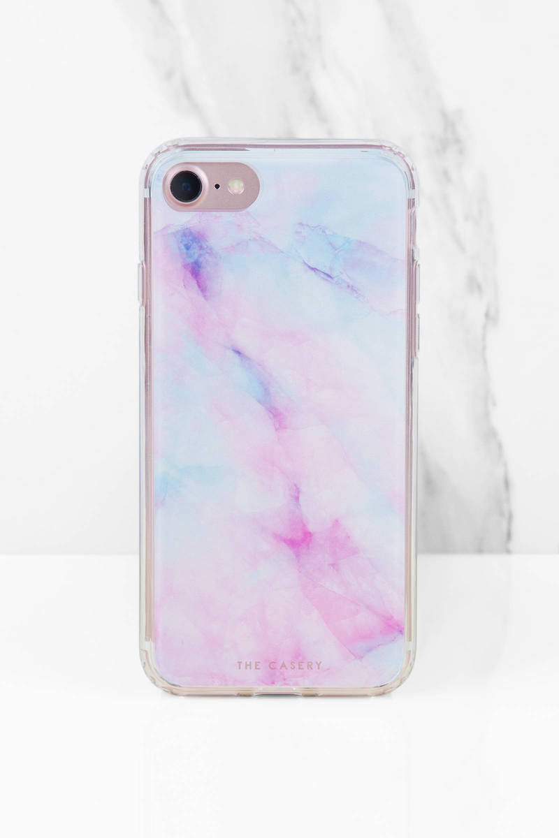 The Casery, Inc. Iridescent Multi Crystal Phone Case