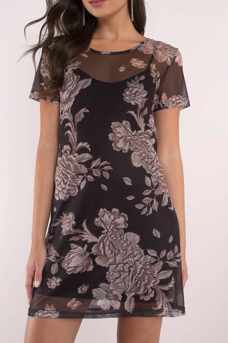 MINKPINK Minkpink Metallique Mesh Overlay Dress
