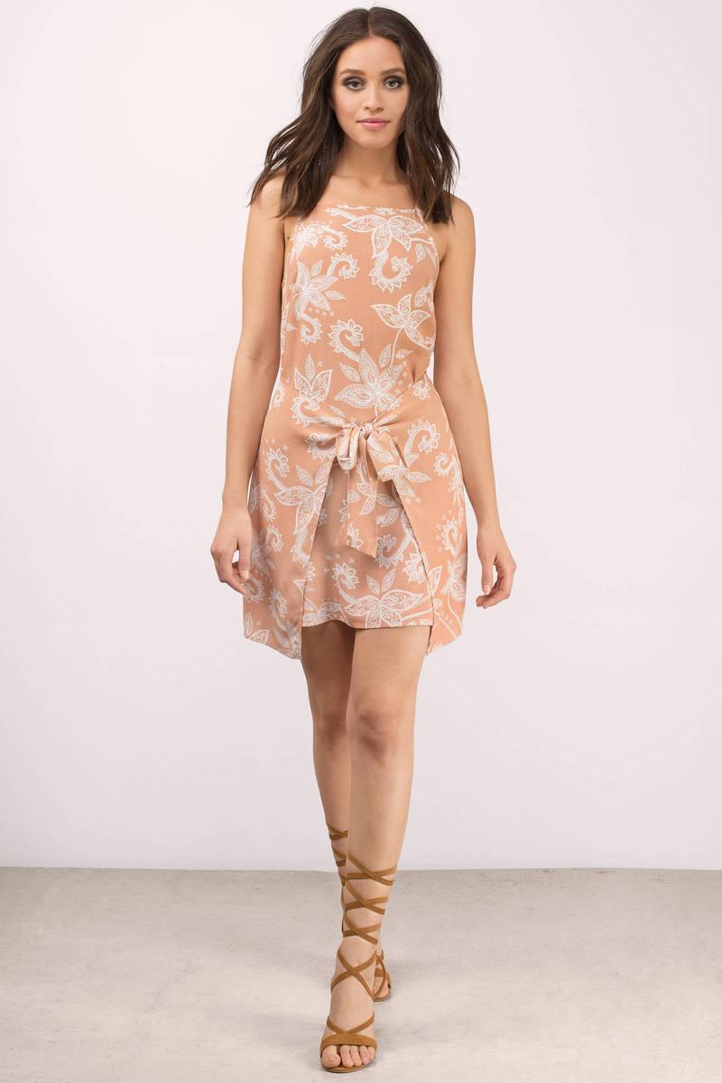 MINKPINK Minkpink Nusa Dua Multi Tie Front Dress
