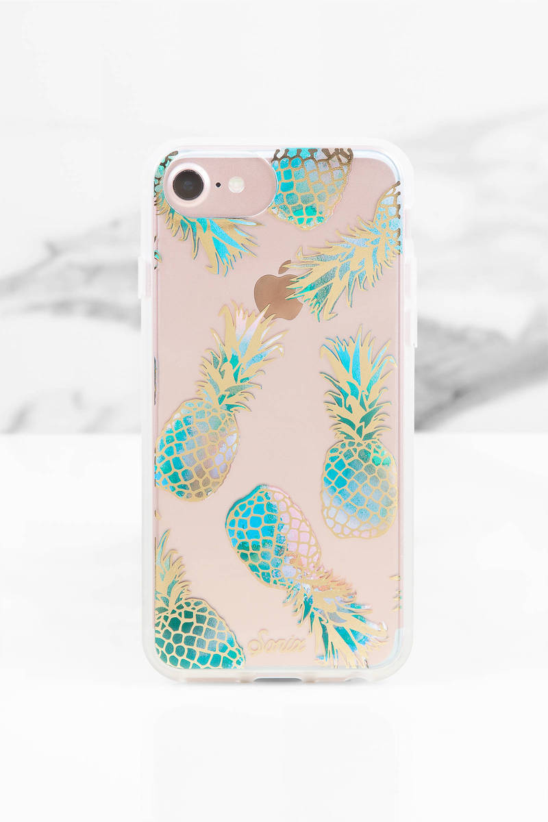 Sonix Cases Sonix Pineapple Multi Print Iphone 7 Case