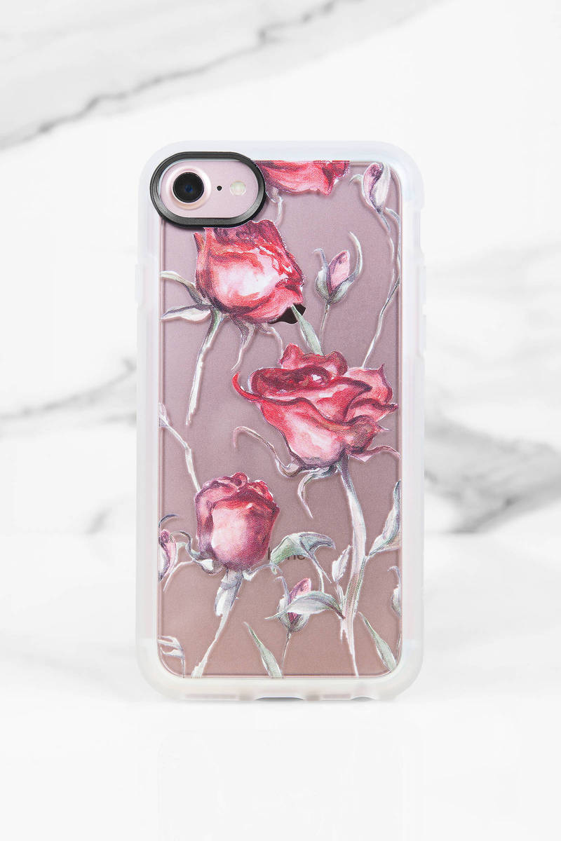 Casetify Rose Print Iphone 7 Case