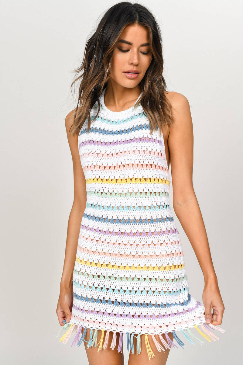 Sasha Fringe Bodycon Dress