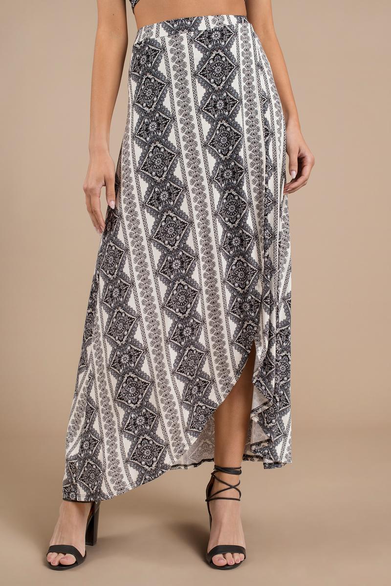Vanessa Multi Maxi Skirt