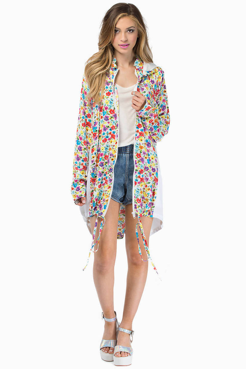 MINKPINK Wild Flower Patch Anorak
