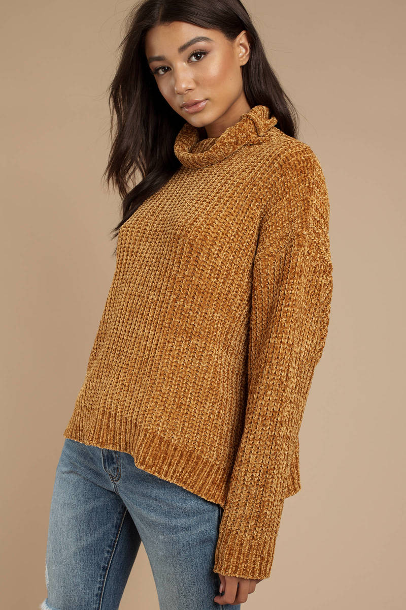 5e60e1776dc60a Mustard Lost + Wander Sweater - Chenille Sweater- Mustard Yellow ...