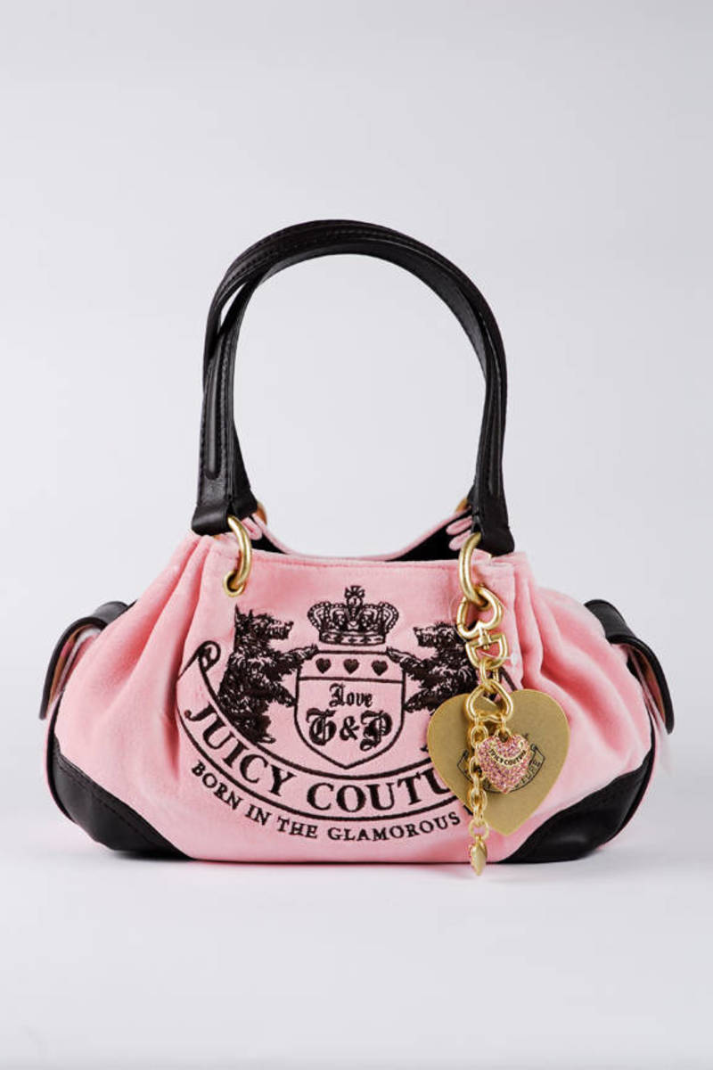 2fab64f21676 Juicy Couture Heritage Crest Baby Fluffy Bag
