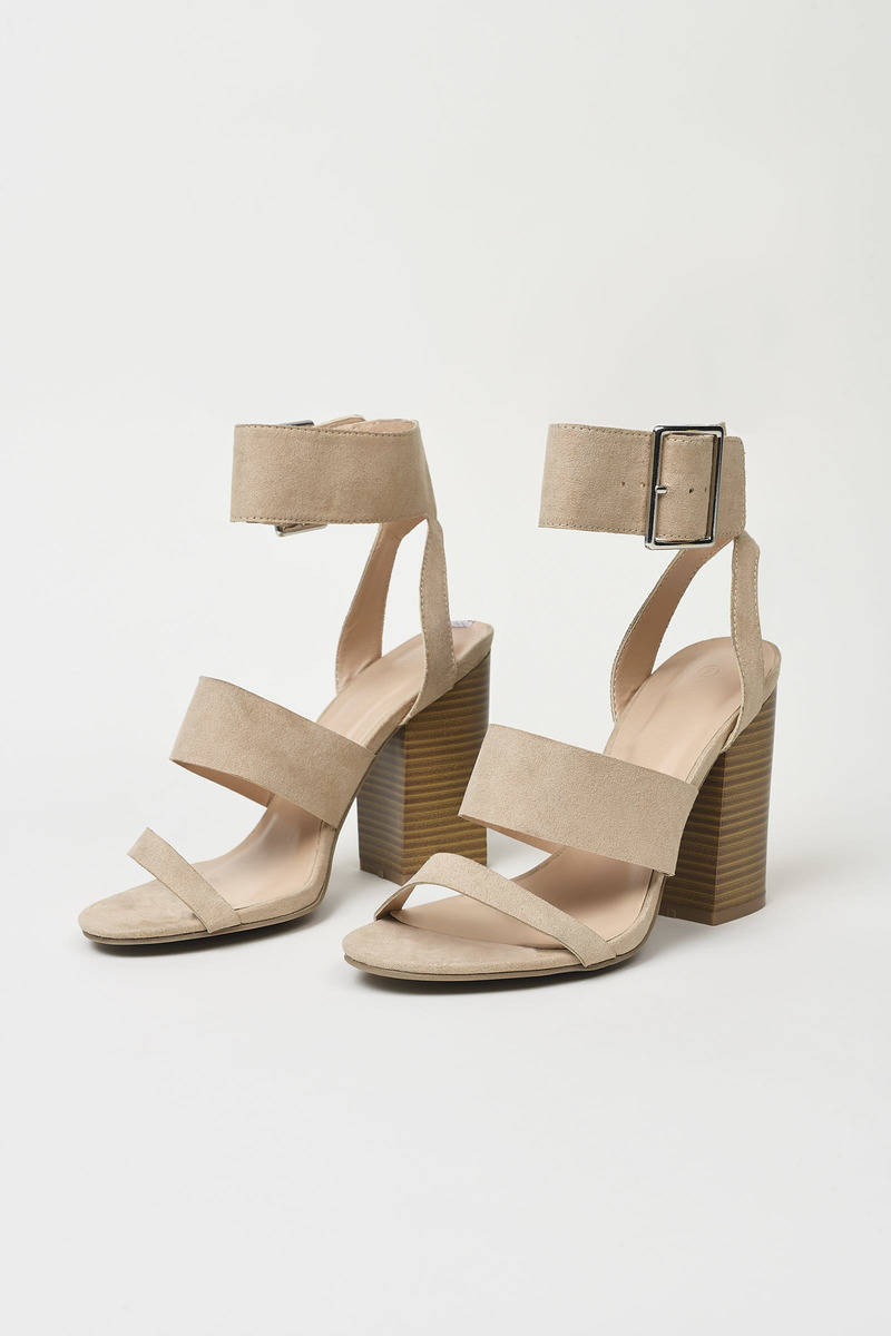 d94a31db63a Avila Suede Ankle Strap Sandals