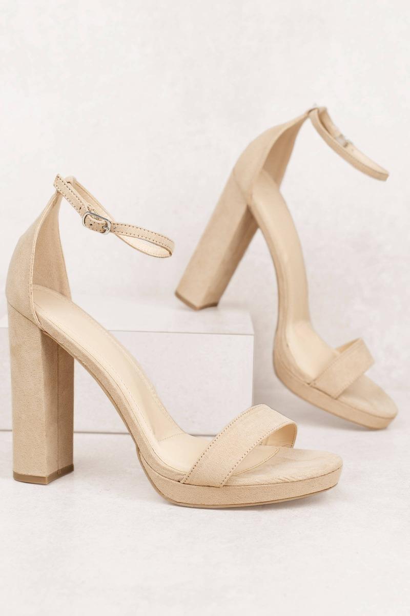 Morrin Ankle Strap Block Heels