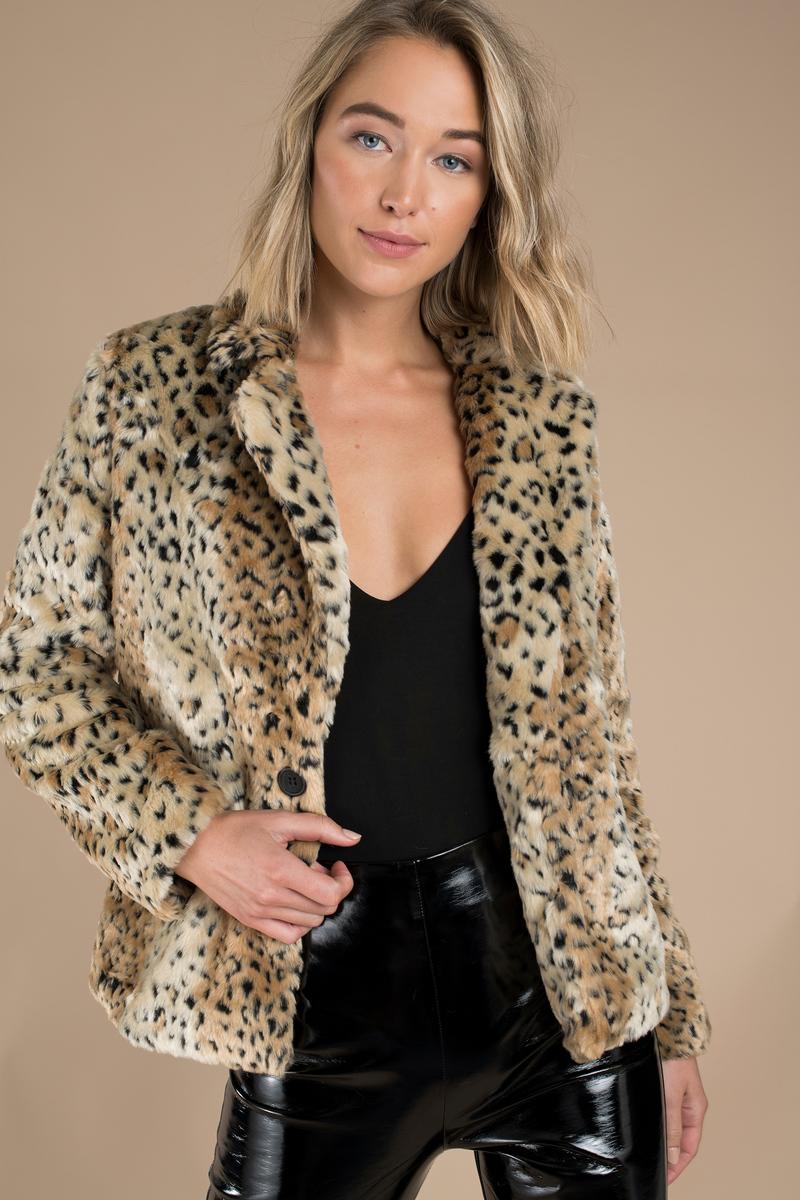 Leopard Print Jacket for Women – Fashion dresses