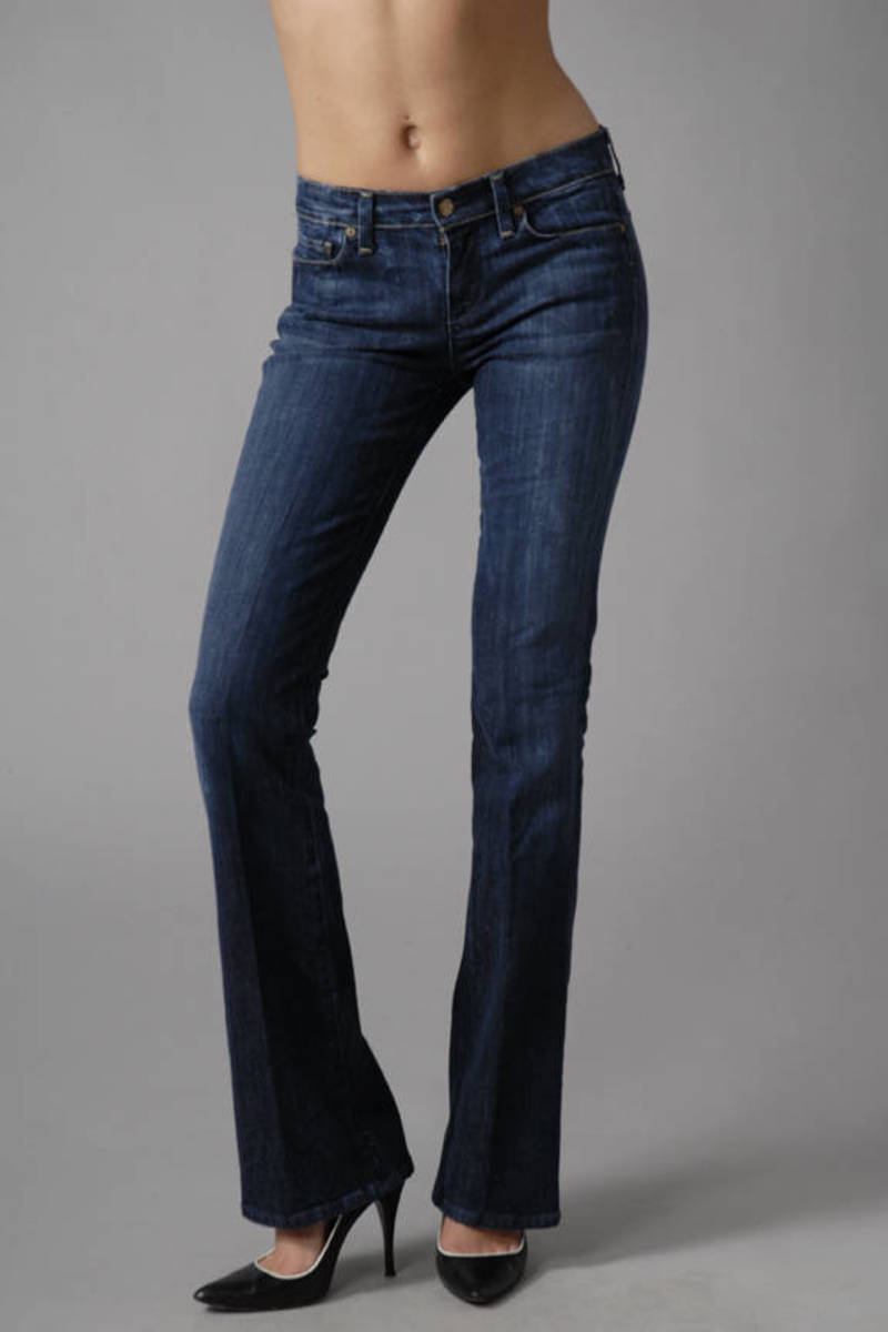 30a0a9a5ae6 Blue Citizens Of Humanity Jeans - High Rise Denim Jeans - Blue ...