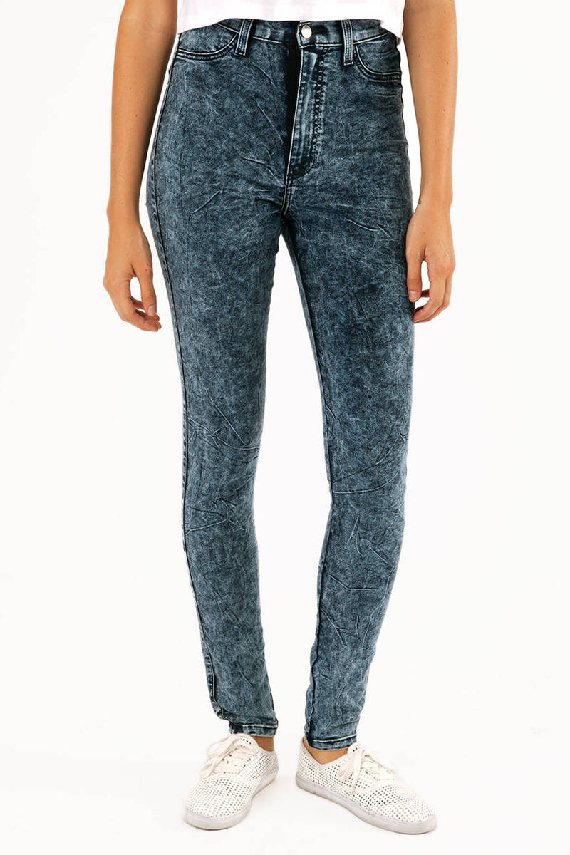 Vibrant M.I.U High & Waisted Jeans