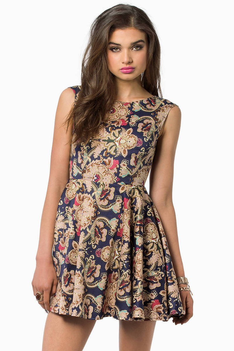 Barococo Skater Dress