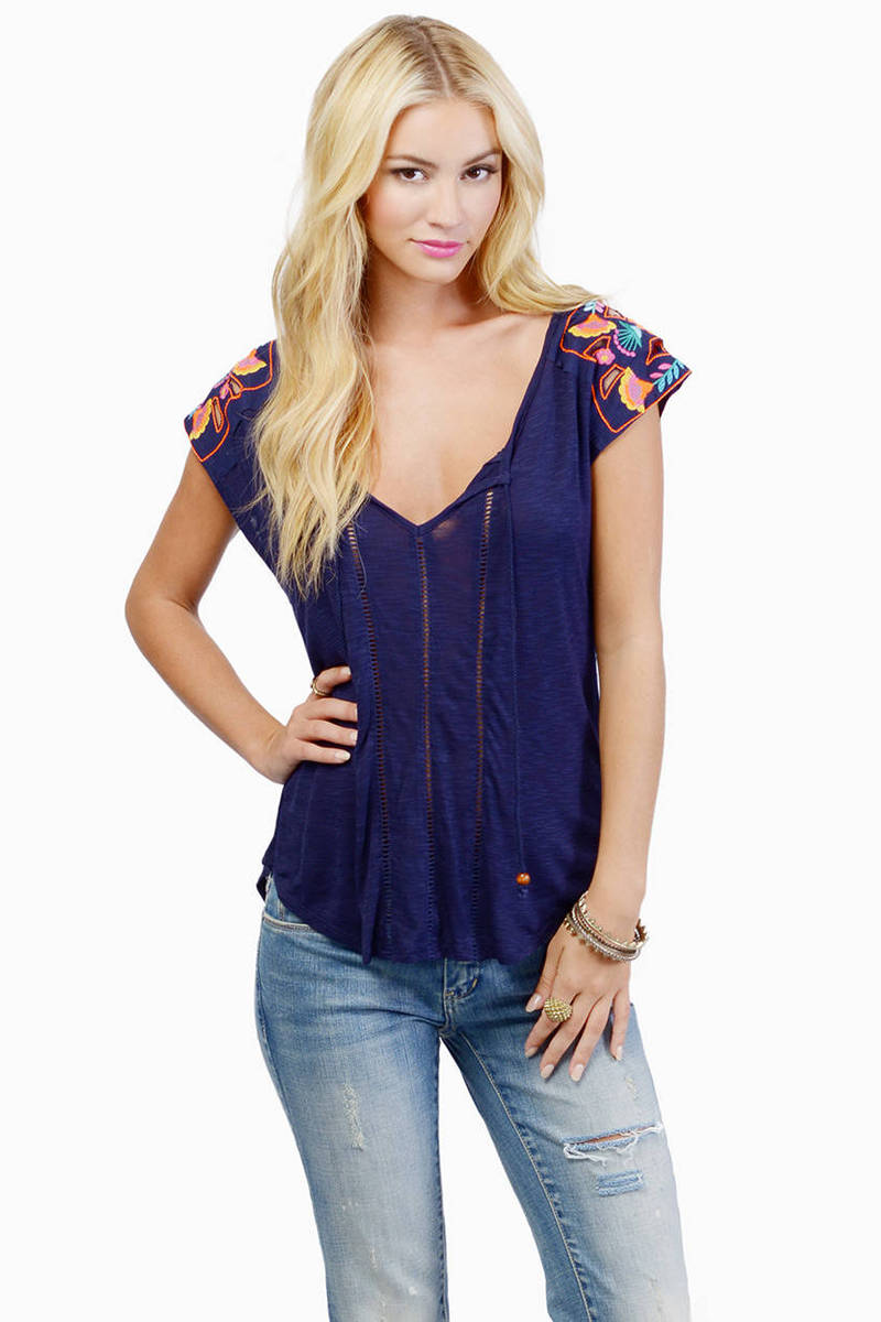 Blue Jay Melody Top