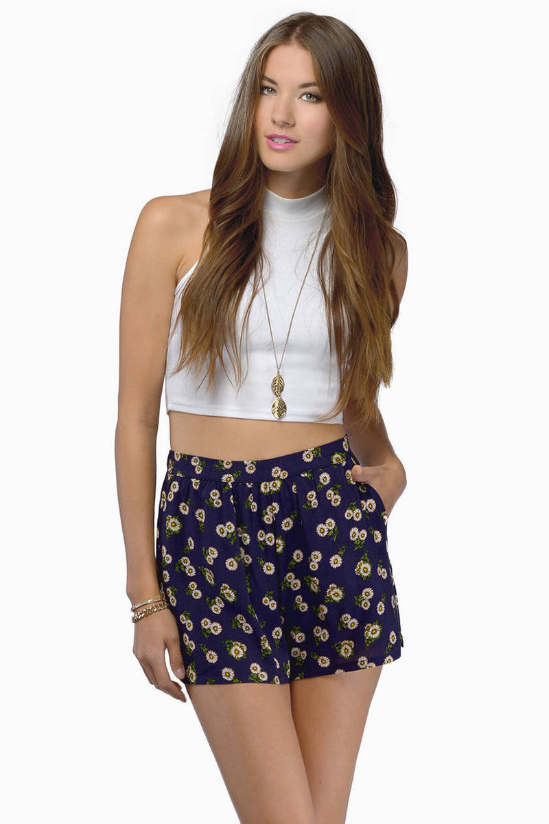 Kimmy Floral Shorts