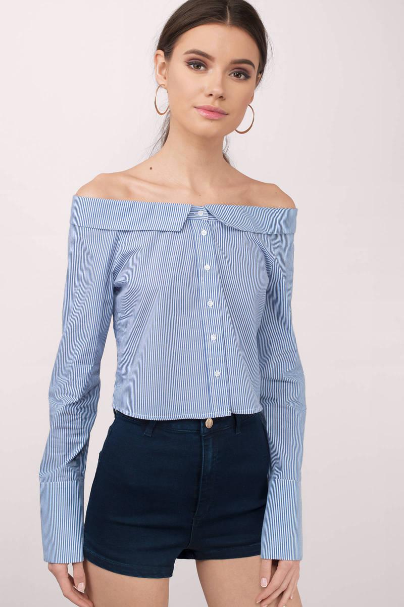 Jessica Navy Shirt