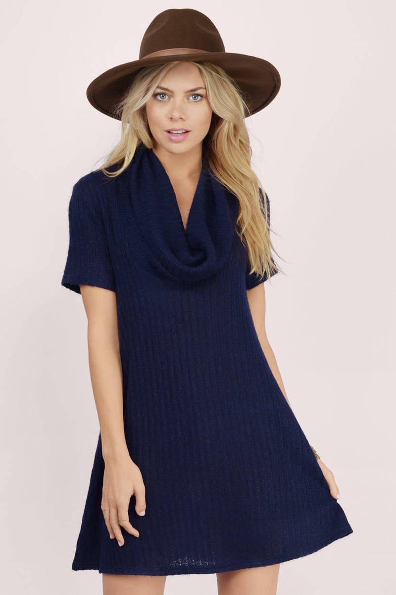 Long Journey Olive Sweater Dress