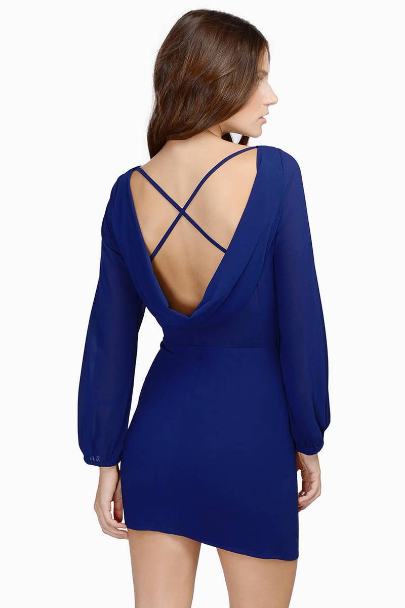 Look Back At It Dress
