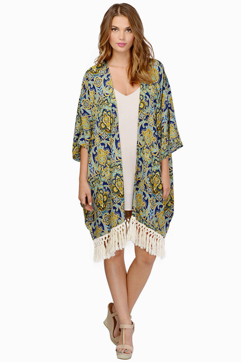 Arms Wide Open Kimono - NZ$ 33 | Tobi NZ