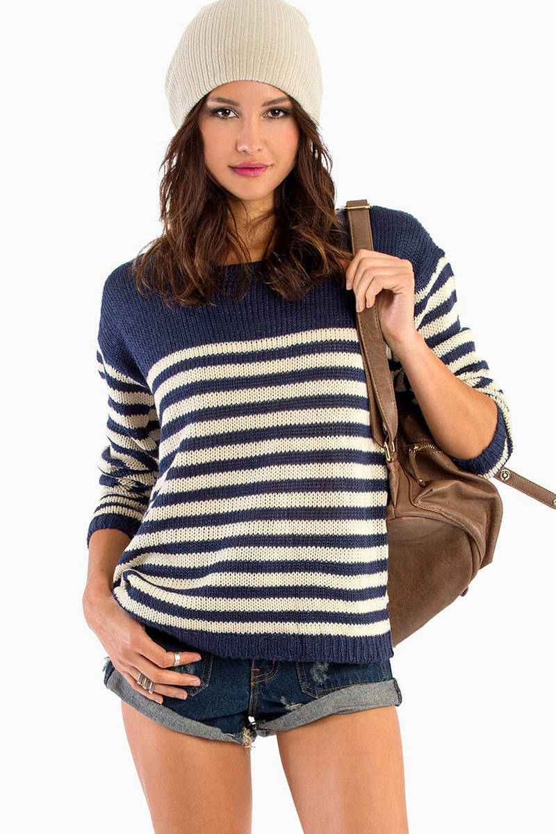 Walk The Line Sweater