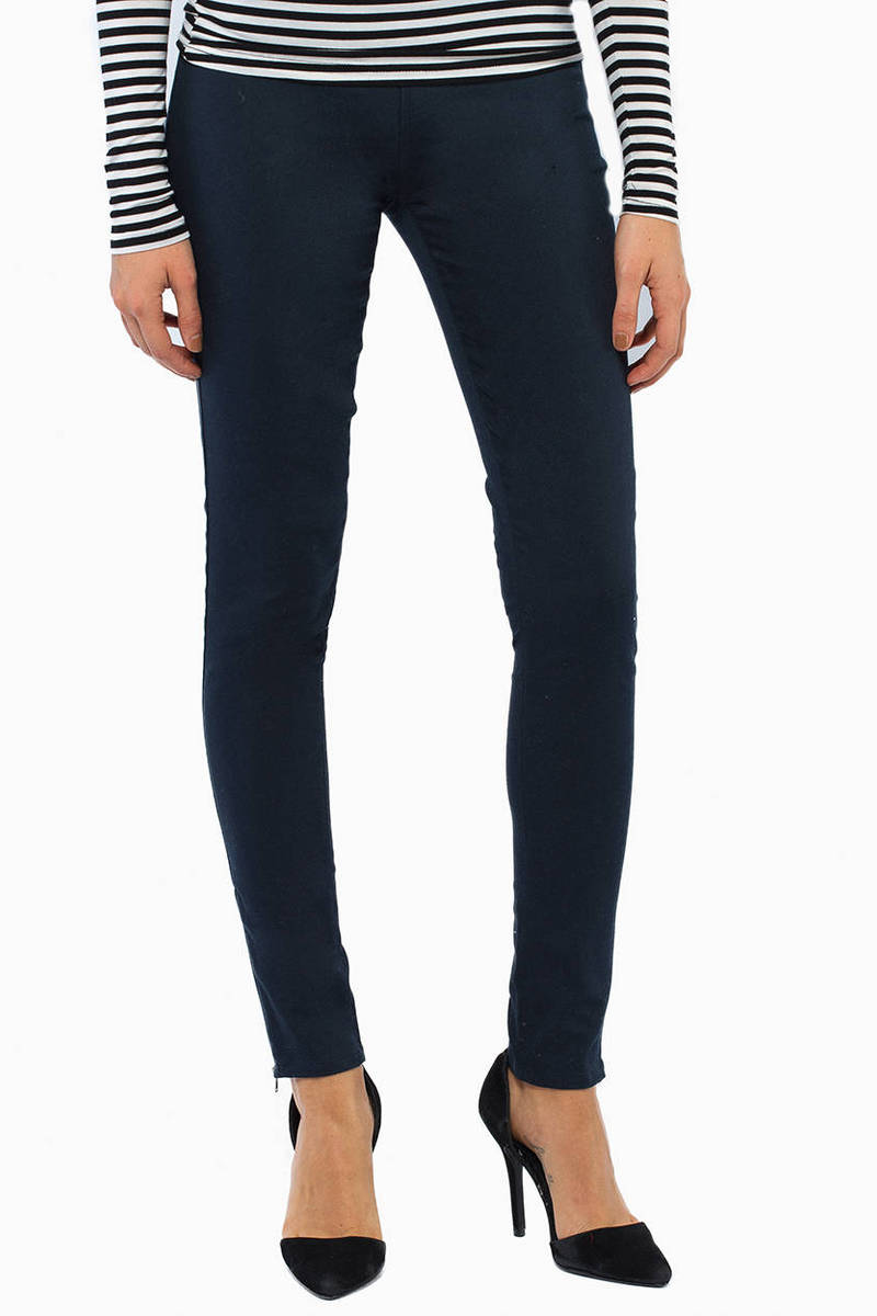 Zoey Zip Ankle Leggings