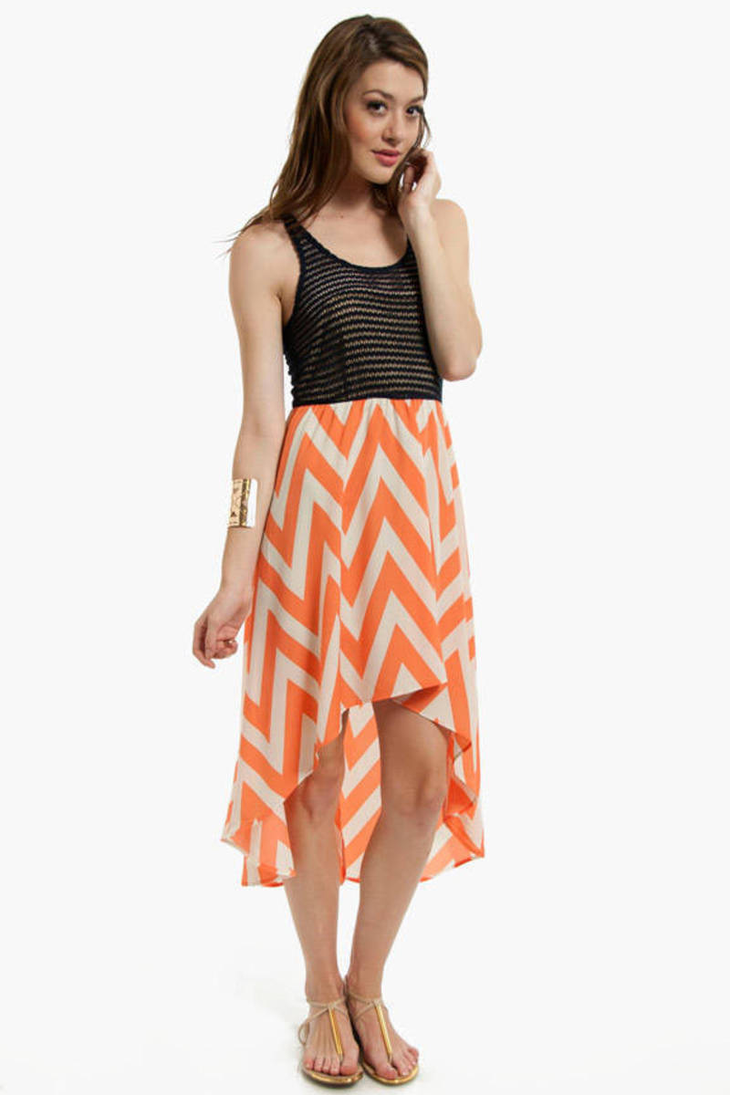 Zuma Chevron Dress