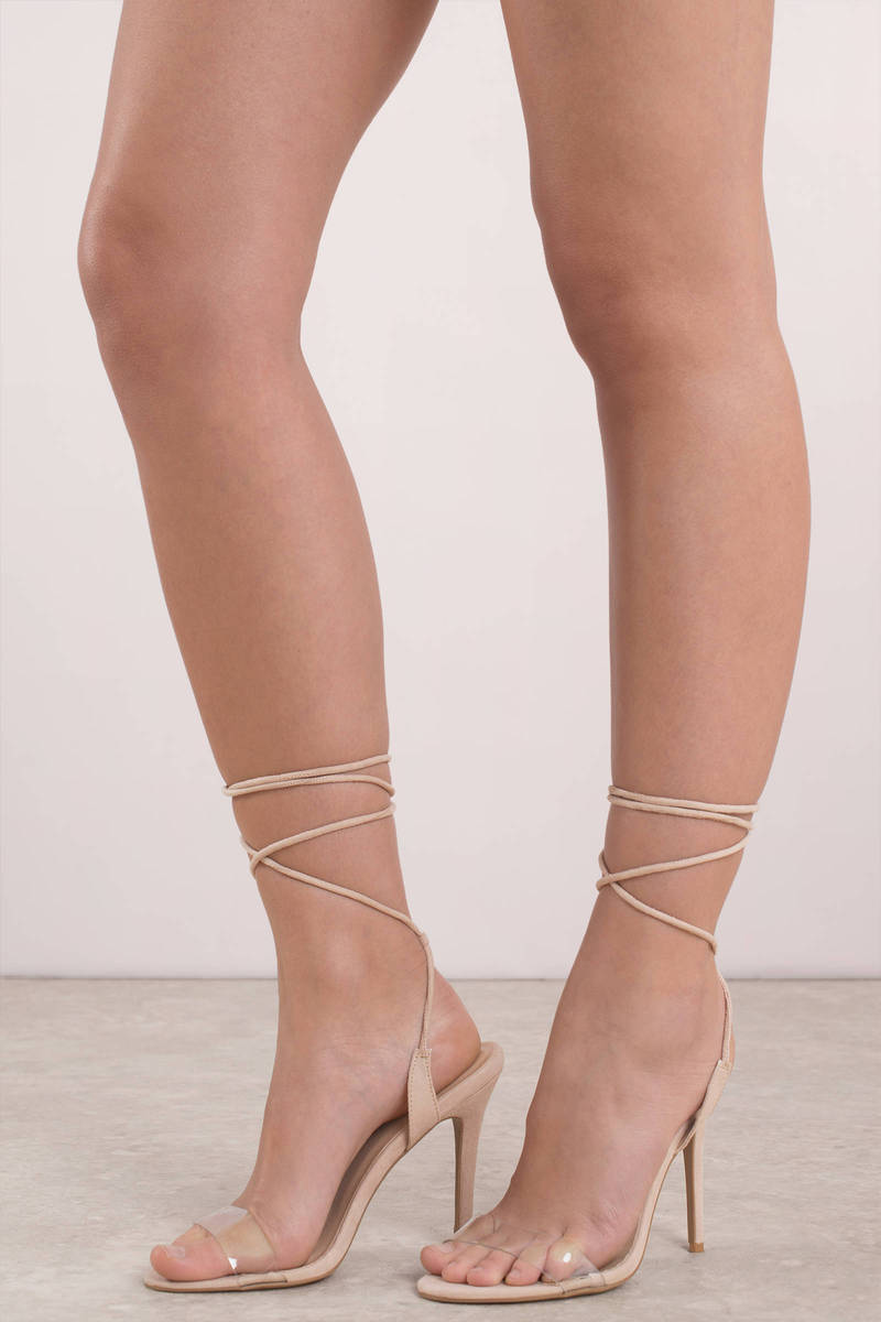 Cute Nude Heels - Wedding Heels - Nude