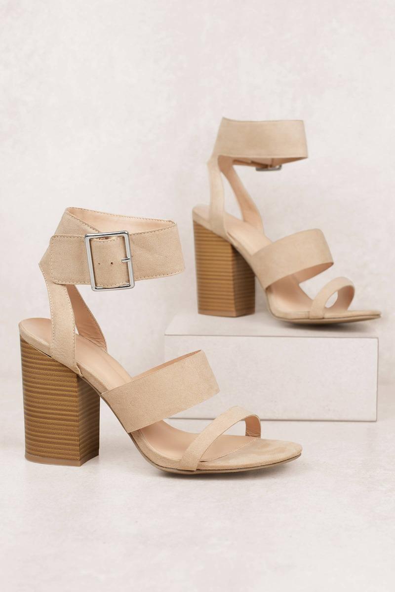 96ba60fc14e Ava Strappy Heels