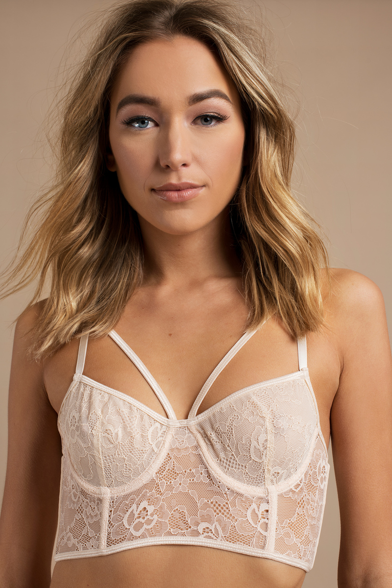 Bras  Lace Bralettes, Sheer Bras, Strappy Bras, Caged -7496