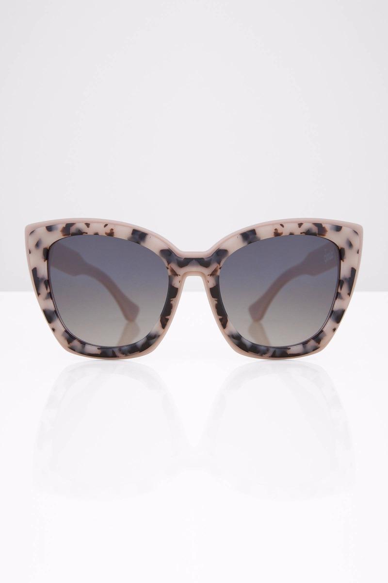 5de56ed39cb Sonix Lafayette Nude Tortoise Sunglasses - C  86