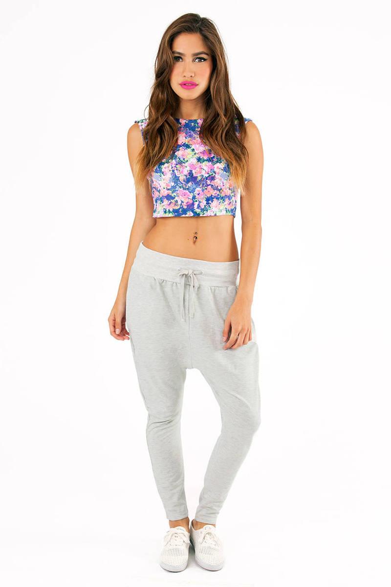 Rehab Clothing Drop Crotch Sweat Pants