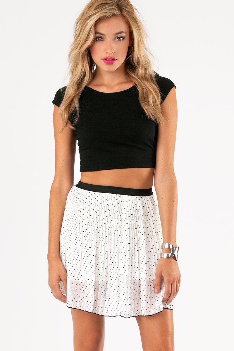 Polka Hearted Skirt