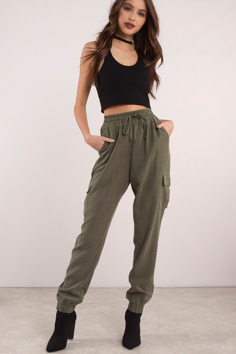 Alexis Olive Jogger