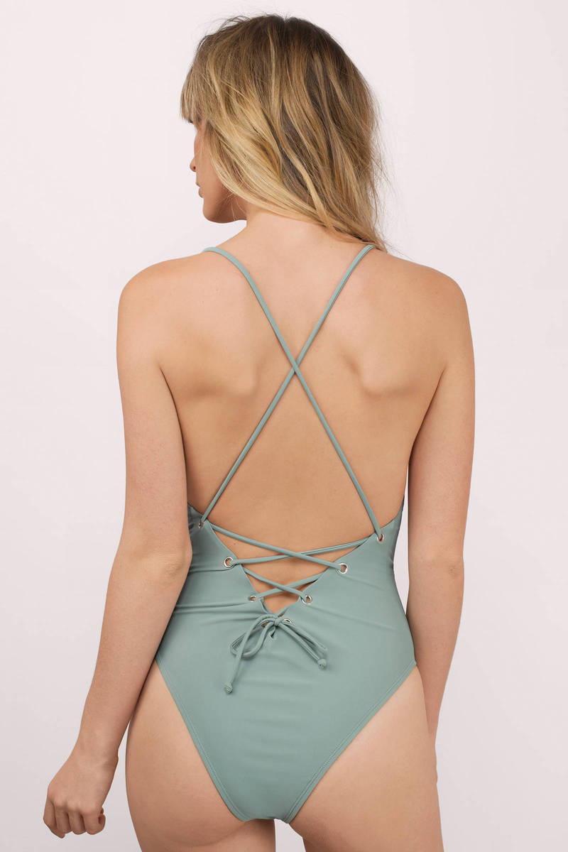 Better Off Olive Monokini