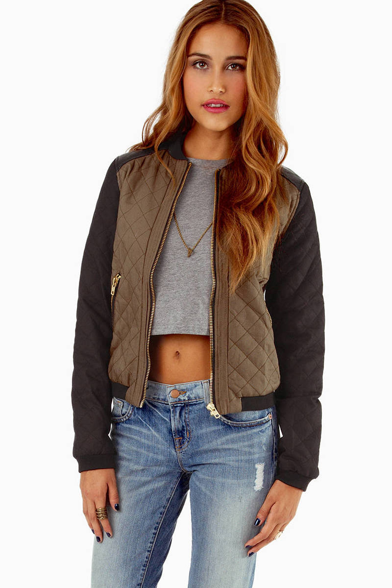 Cotton Candy Eclipse Quilted Bomber Jacket