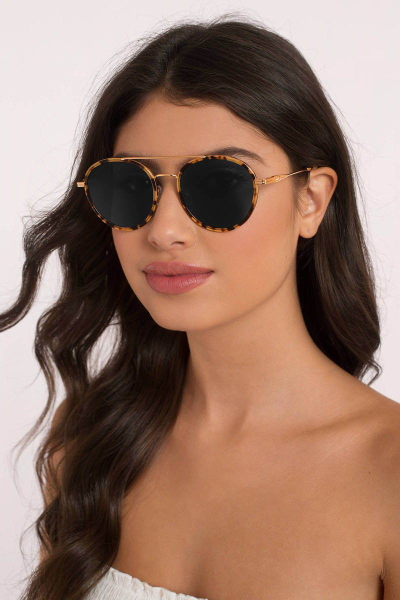 Sonix  Sonix Charli Olive Sunglasses
