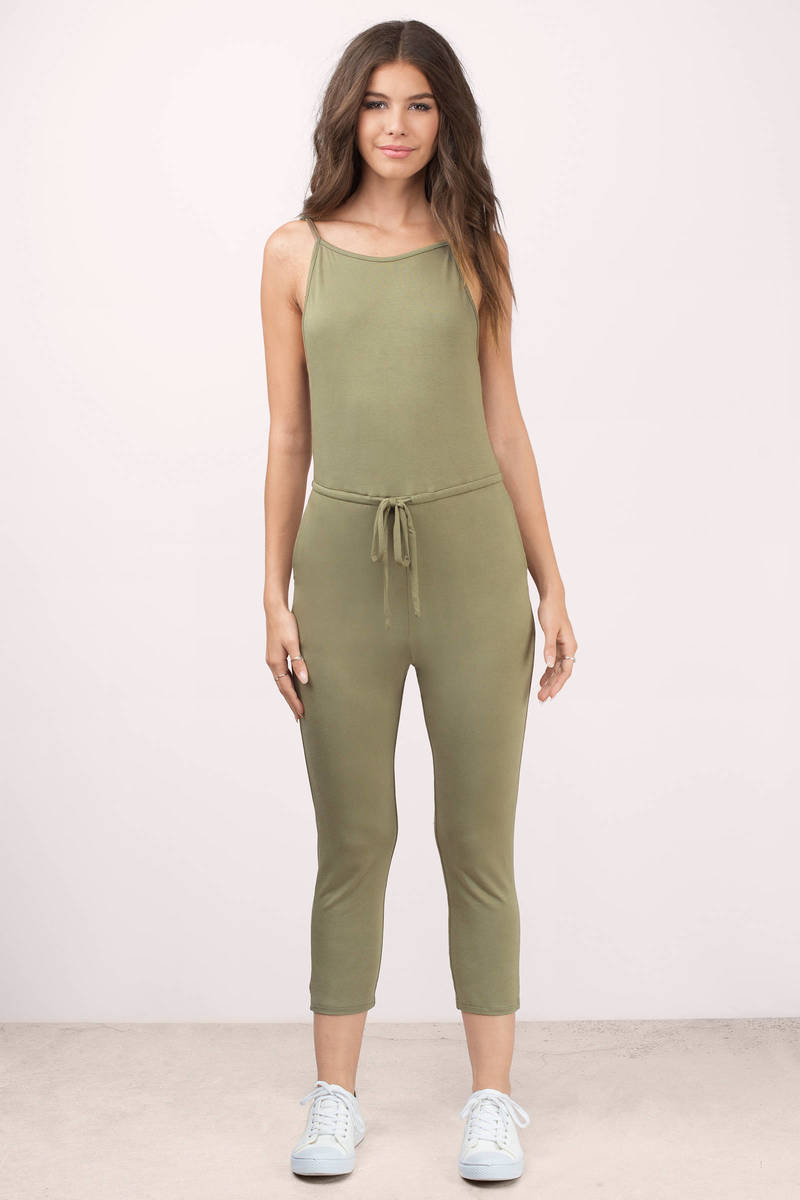 d3861aa8415 Chillax Draped Tank Jumpsuit