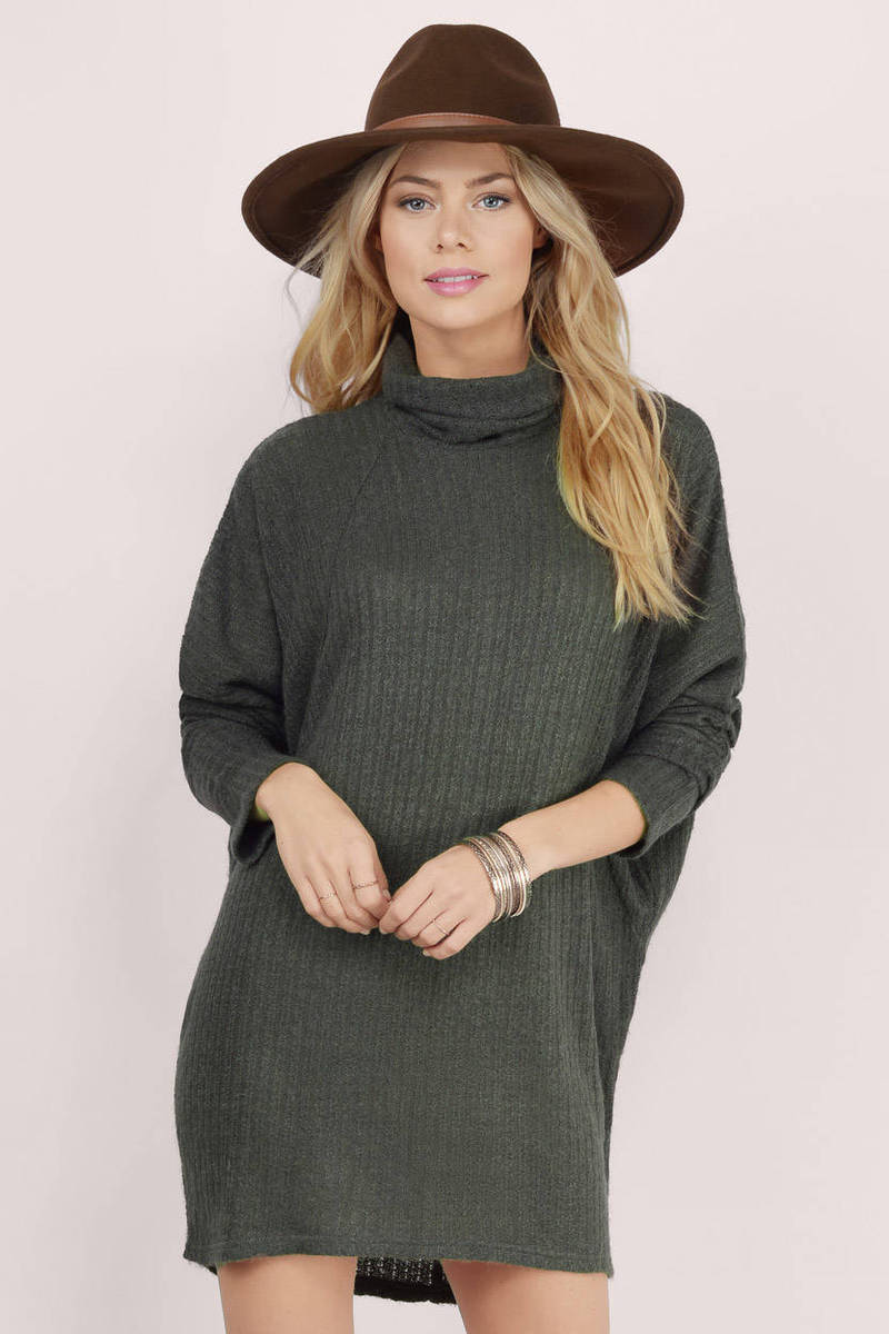 Cozy Days Olive Sweater