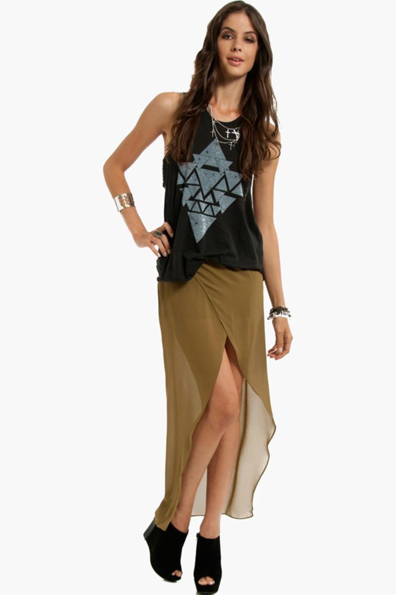 Gypsy Girl Maxi Skirt