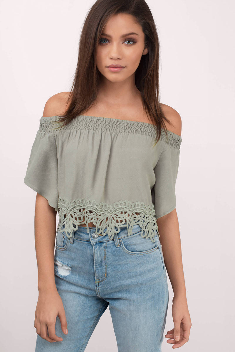 Haven Rose Crop Top