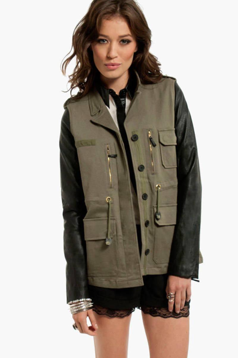 Jane Contrast Jacket