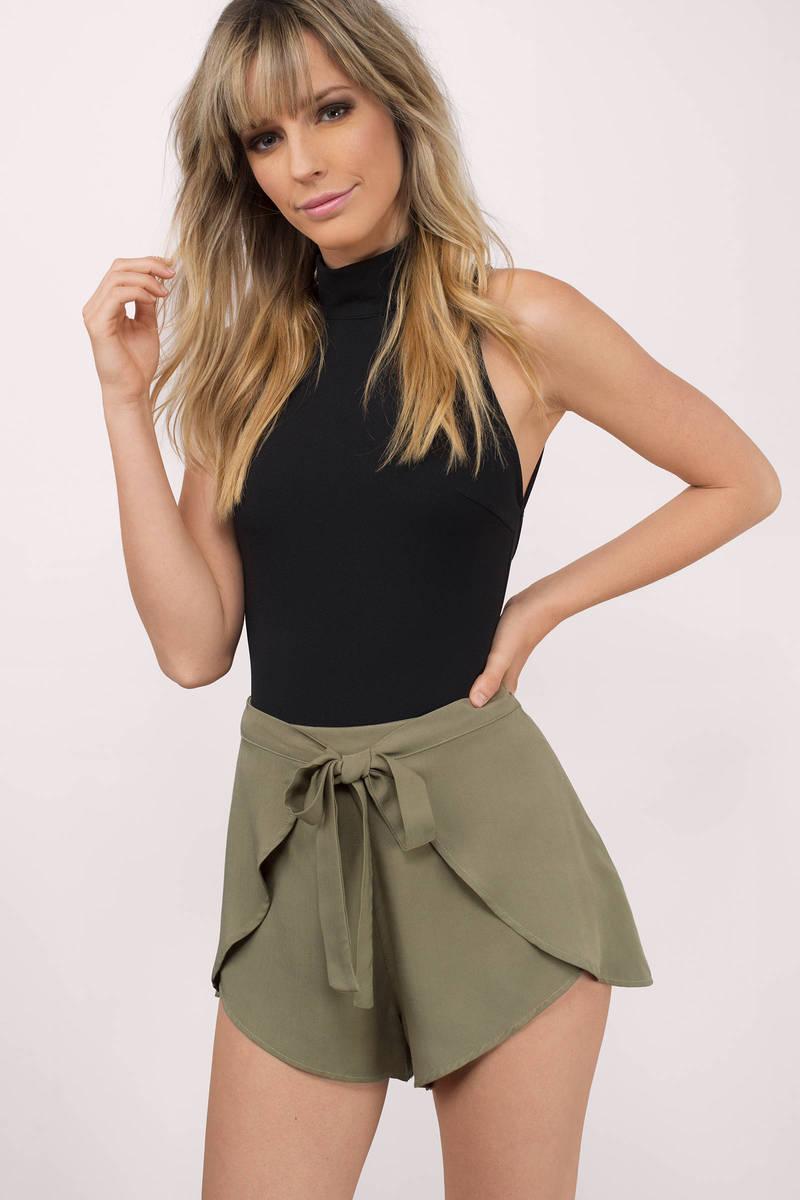 Jocelyn Olive Shorts