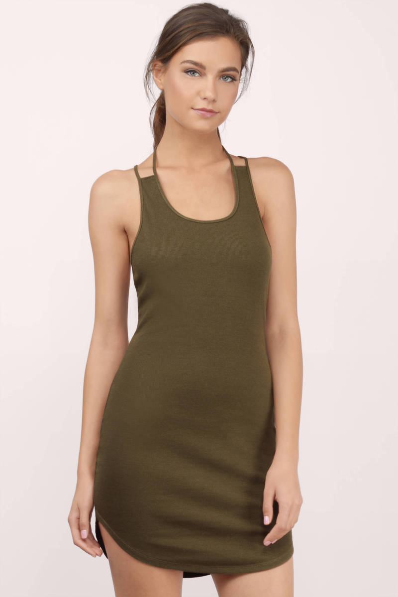 Tank Top Bodycon Dress