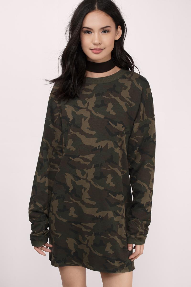 Kristy Olive  Abstract Sweatshirt
