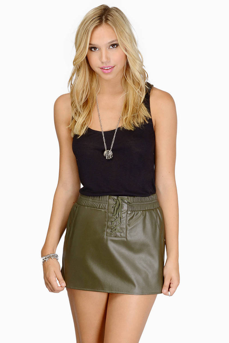 Laced Up Well Skirt