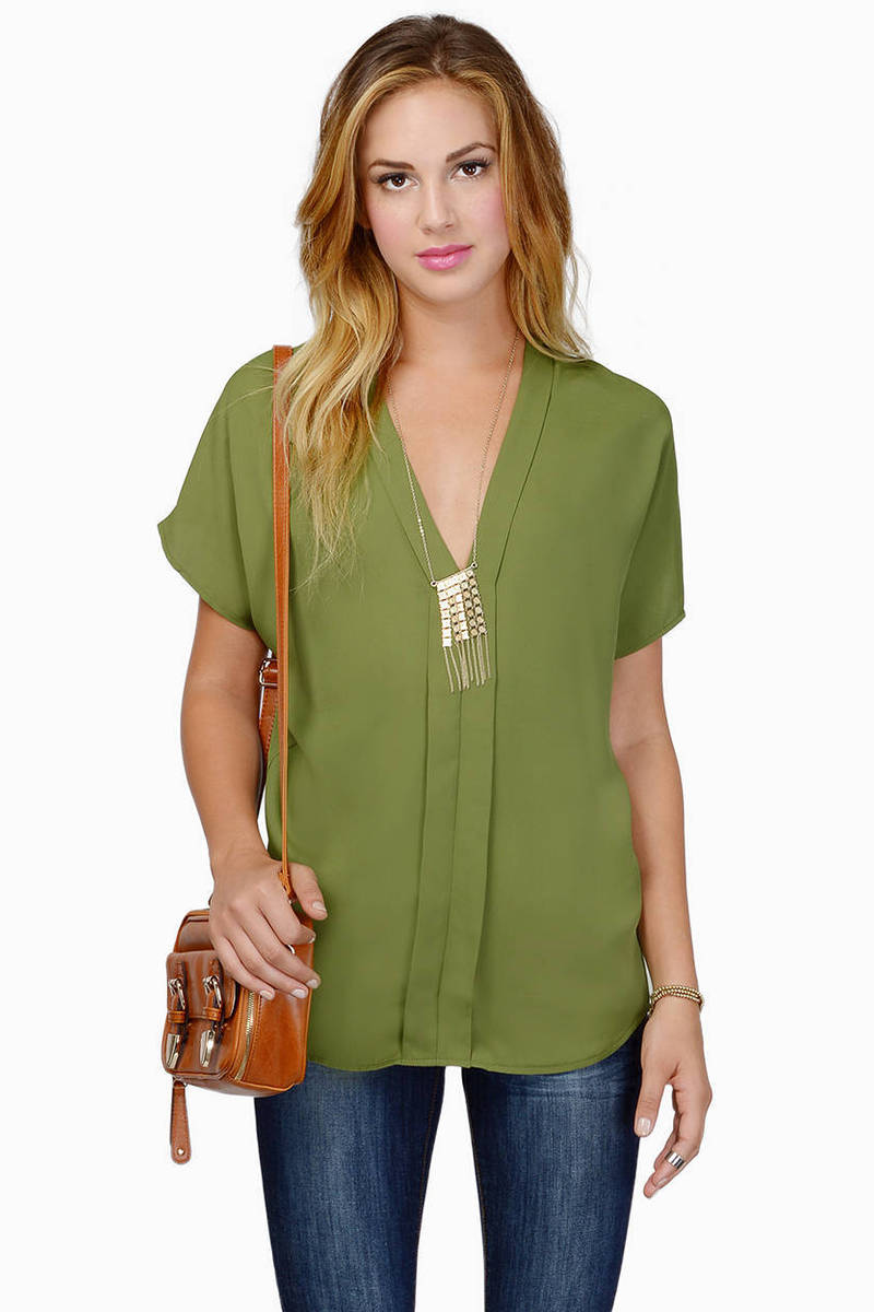 Liddle Iddle Olive Blouse