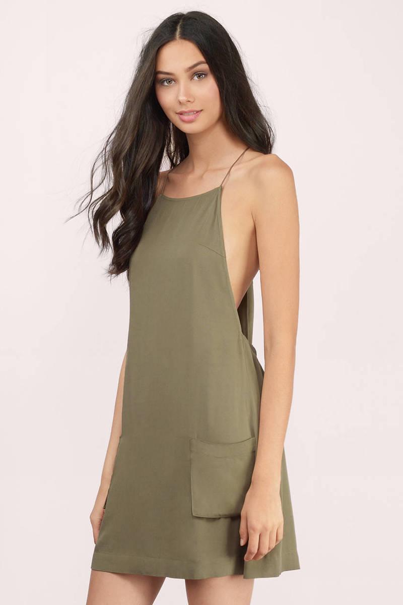 Lily Olive Day Dress