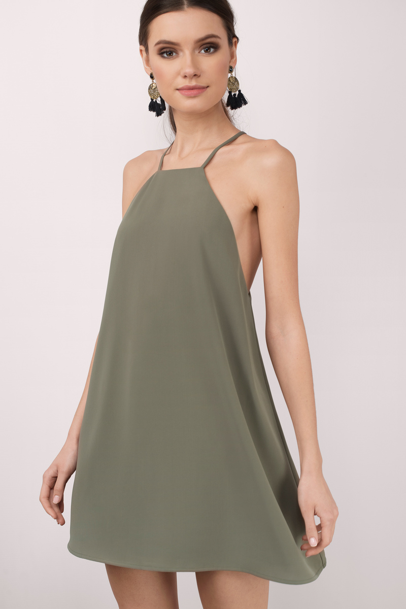 Black Dress - Sleeveless Dress