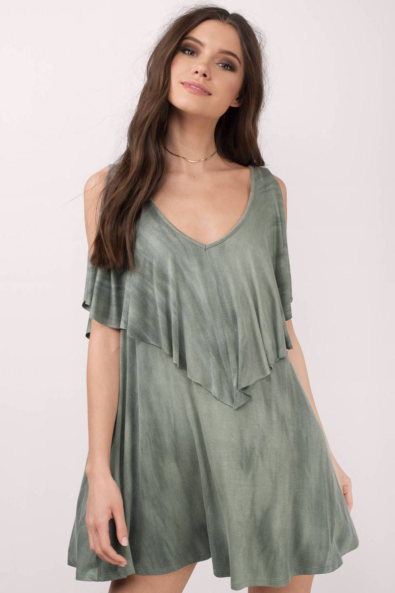 Marie Olive Tie Dye Day Dress
